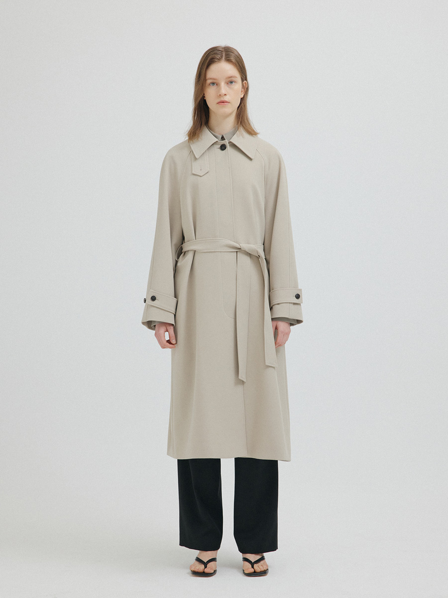 BEIGE SERRA TRENCH COAT